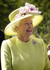 Her Majesty the Queen in 2007